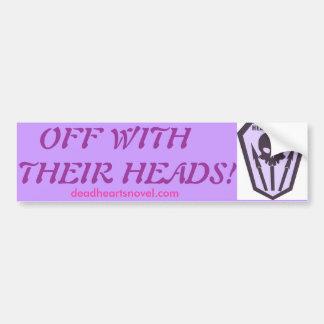 Pegatina para el parachoques de los Headhunters -