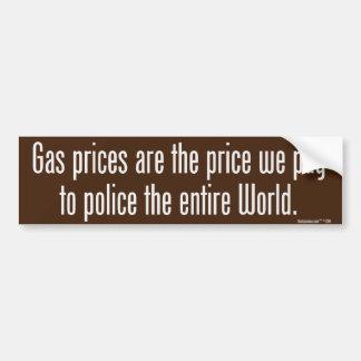 Pegatina para el parachoques de los precios de la  pegatina para coche