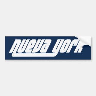 Pegatina para el parachoques de Nueva York NYC Pegatina Para Coche