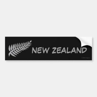 Pegatina para el parachoques de NUEVA ZELANDA