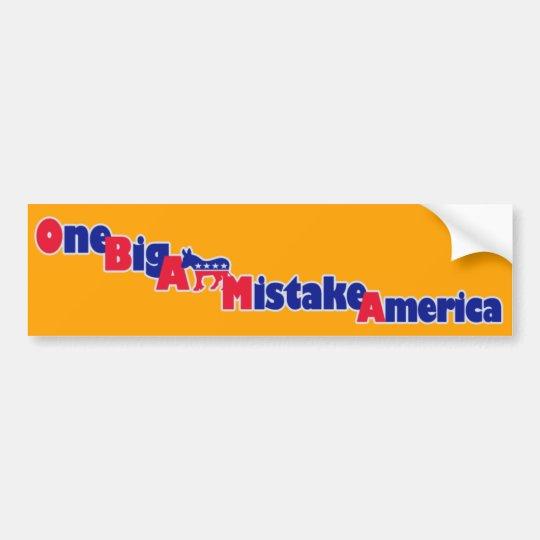 Pegatina para el parachoques de Obama
