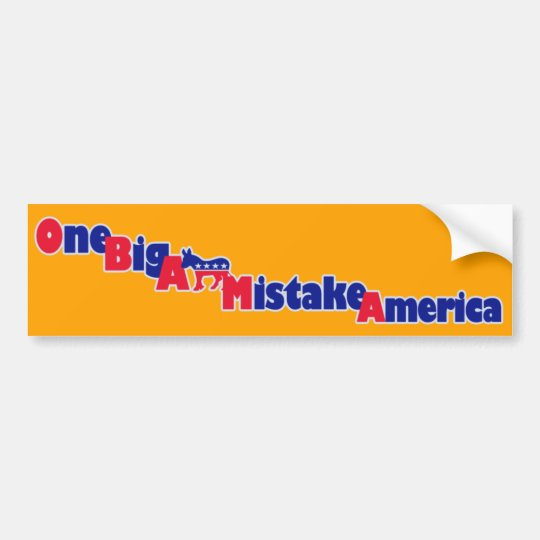 Pegatina para el parachoques de Obama Pegatina Para Coche