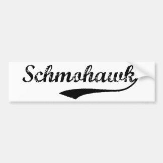 Pegatina para el parachoques de SCHMOHAWK Pegatina Para Coche
