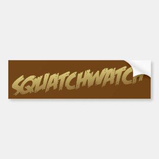 Pegatina para el parachoques de SQUATCHWATCH Pegatina Para Coche