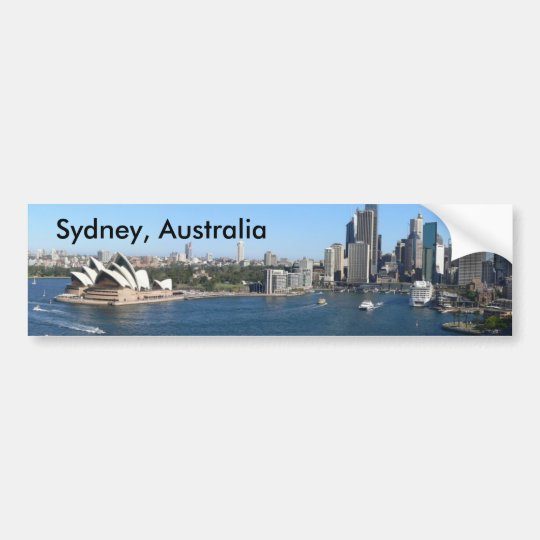 Pegatina para el parachoques de Sydney, Australia Pegatina Para Coche