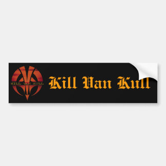 Pegatina para el parachoques de Van Kull de la mat Pegatina Para Coche