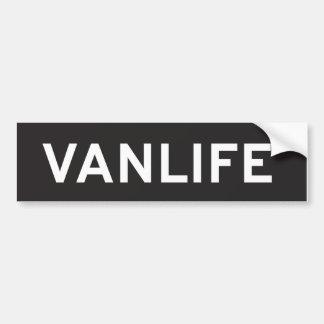Pegatina para el parachoques de Vanlife