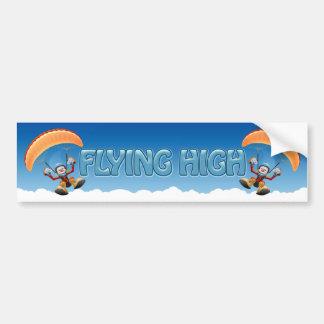 Pegatina para el parachoques del ala flexible etiqueta de parachoque
