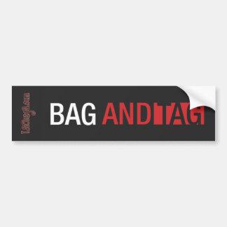 Pegatina para el parachoques del bolso y de la eti pegatina para coche