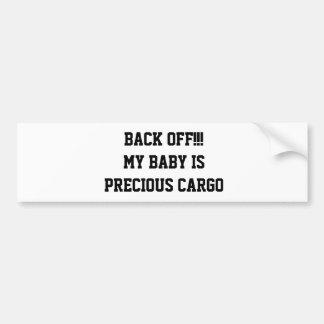 "Pegatina para el parachoques del ""buggie"" del bebé pegatina para coche"