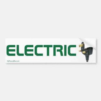 Pegatina para el parachoques del coche eléctrico pegatina de parachoque