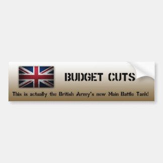 Pegatina para el parachoques del ejército británic pegatina para coche