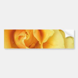 Pegatina para el parachoques del flor del rosa ama pegatina para coche
