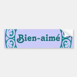 Pegatina para el parachoques del francés de Bien-a Pegatina Para Coche