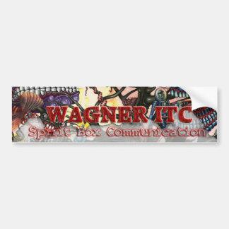 Pegatina para el parachoques del ITC de WAGNER