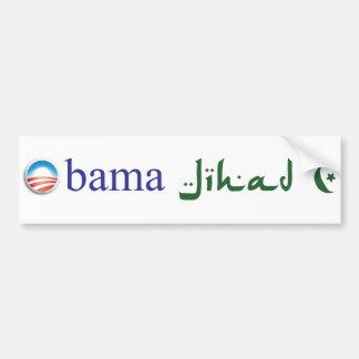 Pegatina para el parachoques del Jihad de Obama Pegatina Para Coche