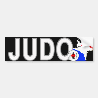 Pegatina para el parachoques del JUDO Etiqueta De Parachoque