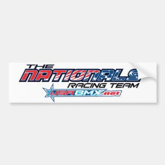 pegatina para el parachoques del logotipo de los n pegatina para coche