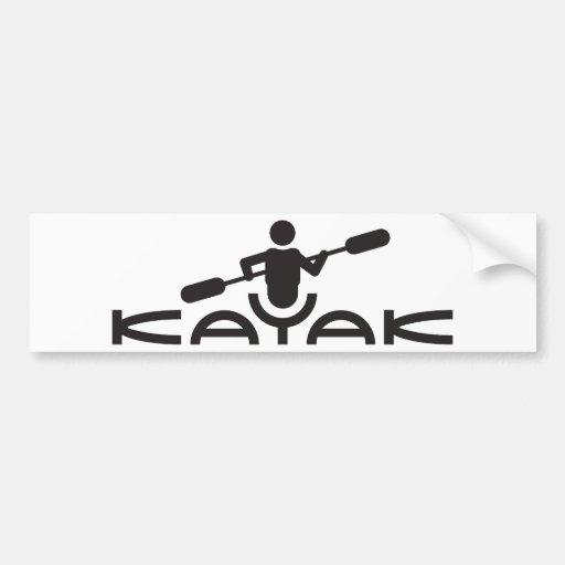 Pegatina para el parachoques del logotipo del kaja etiqueta de parachoque