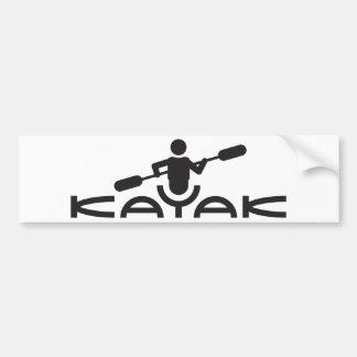 Pegatina para el parachoques del logotipo del kaja pegatina para coche