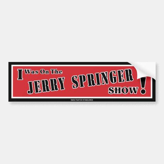 Pegatina para el parachoques del saltador de Jerry