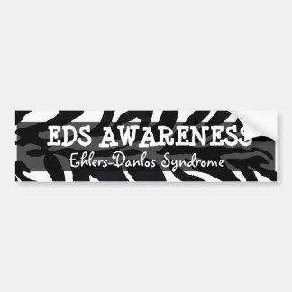 Pegatina para el parachoques del síndrome del EDS