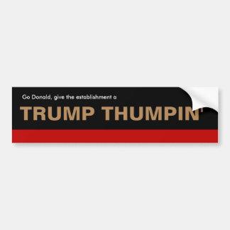 """Pegatina para el parachoques del Thumpin'"""" del"""