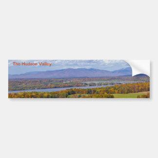 Pegatina para el parachoques del valle del Hudson