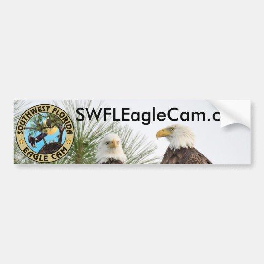 Pegatina para el parachoques del Web site