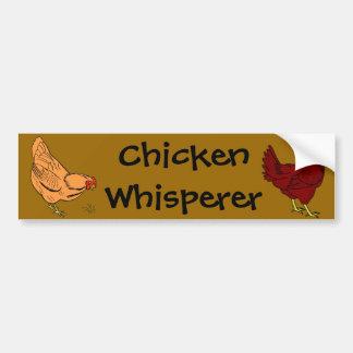 Pegatina para el parachoques del Whisperer del pol Etiqueta De Parachoque