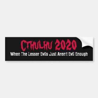 Pegatina para el parachoques divertida 2020 de