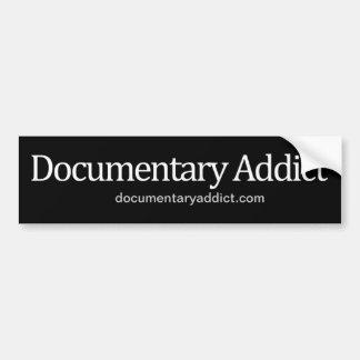 Pegatina para el parachoques documental del adicto