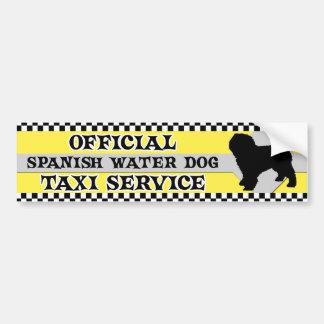 Pegatina para el parachoques española del servicio etiqueta de parachoque