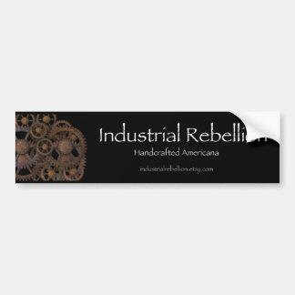 Pegatina para el parachoques industrial de la