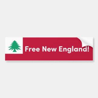 Pegatina para el parachoques libre de Nueva