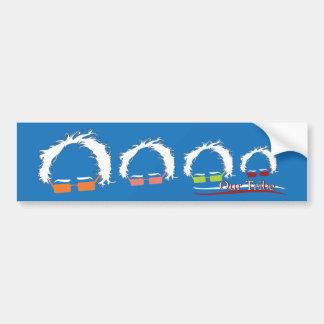 Pegatina para el parachoques - nuestra familia de pegatina para coche