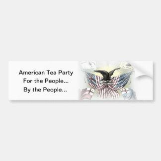 Pegatina para el parachoques política del engranaj pegatina de parachoque
