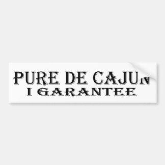 Pegatina para el parachoques Pure De Cajun