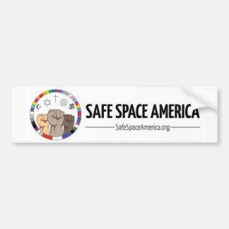 Pegatina para el parachoques segura de América del