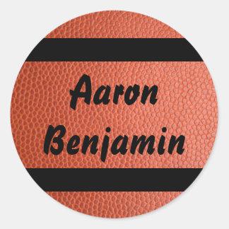 Pegatina para la colección del baloncesto de los