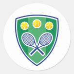 Pegatina para los jugadores de tenis