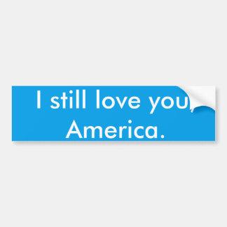 Pegatina patriótico del Anti-triunfo de América