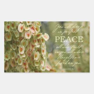Pegatina perfecto de la paz