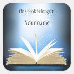 Pegatina personalizado del Bookplate