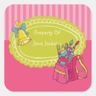 Pegatina personalizado mochila femenina del