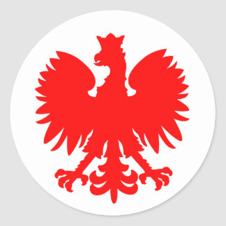 Pegatina polaco de Eagle