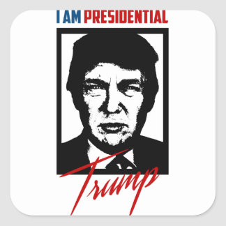 Pegatina presidencial de Donald Trump