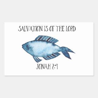 Pegatina Rectangular 2:9 de Jonah