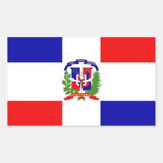 Pegatina Rectangular ¡Bajo costo! República Dominicana