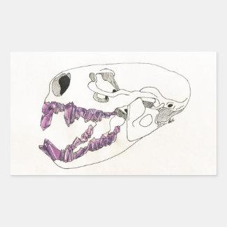 Pegatina Rectangular Bocado